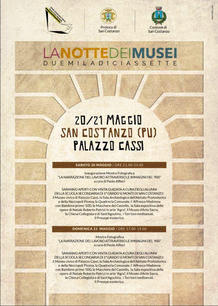 Musei La Notte dei Musei a San Costanzo