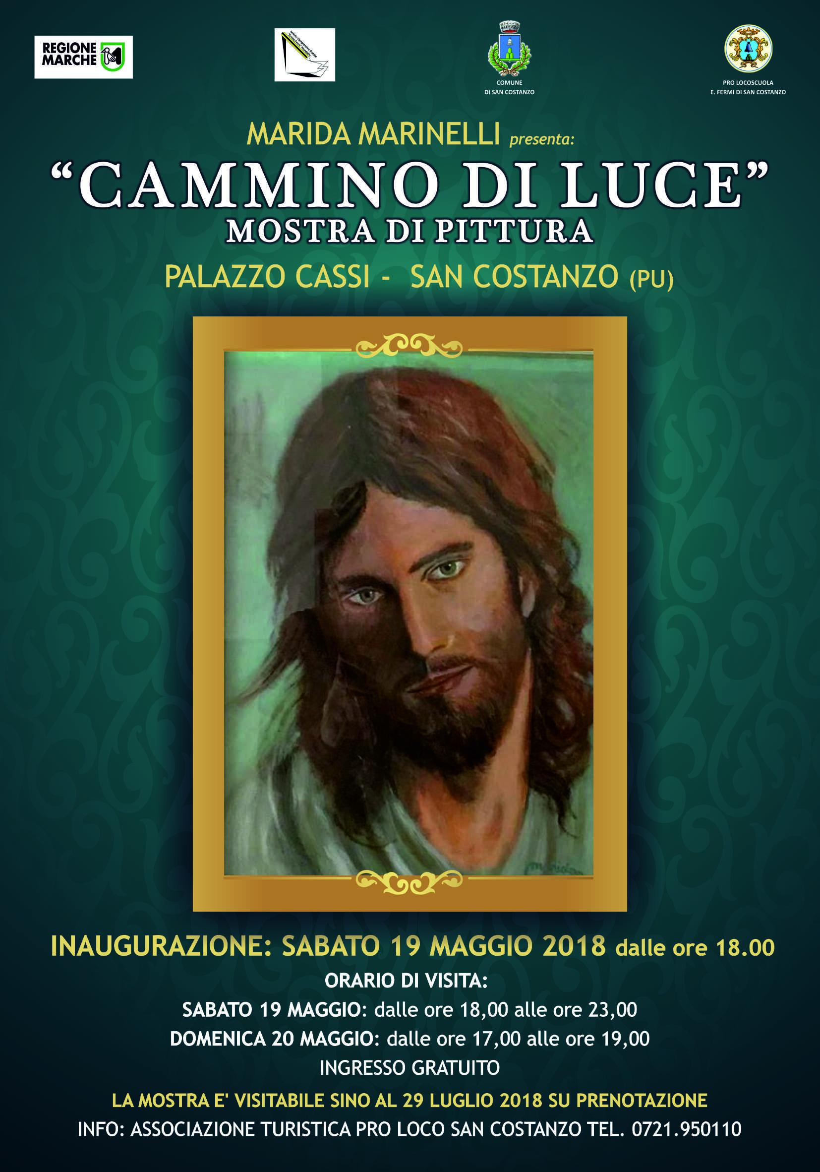 """""""Cammino di Luce"""" – Opere pittoriche di Marida Marinelli"""